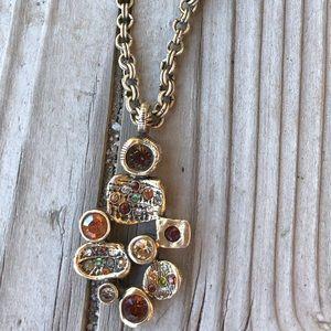 Stunning Patricia Locke Handmade Pendant Necklace!